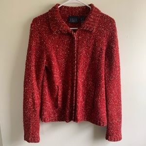 Liz Claiborne | Red Sweater